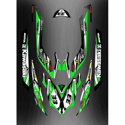 photo du kit décoration - Kit décoration Full pour Kawasaki Ultra - M. Szalaj