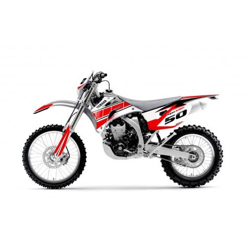 foto-kit deko - Kit dekor angepasste Rot - IDgrafix - Yamaha WR - Herr albouy entfernt