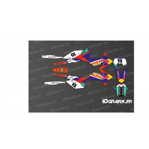 Kit déco 100 % Personnalisé pour KTM EXC350F - M. Picard