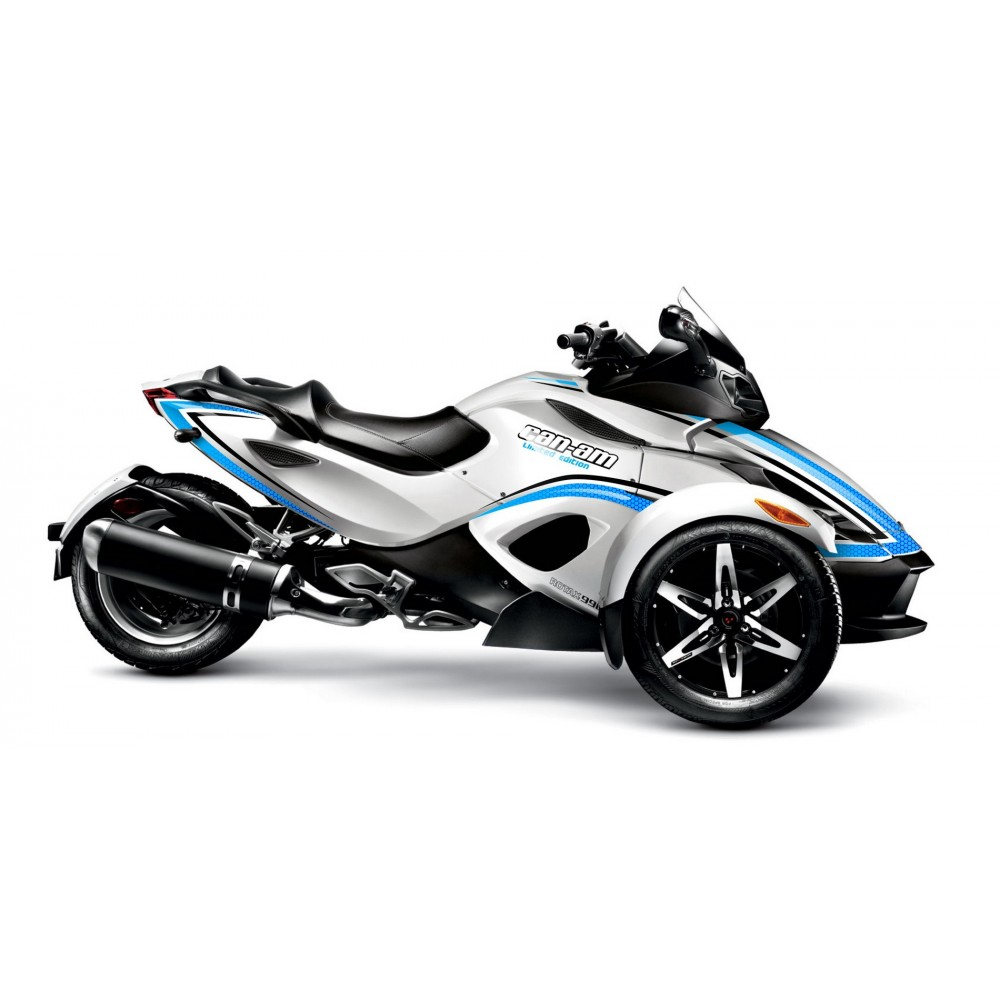 kit decoration light epsilon blue idgrafix can am spyder rs i. Black Bedroom Furniture Sets. Home Design Ideas