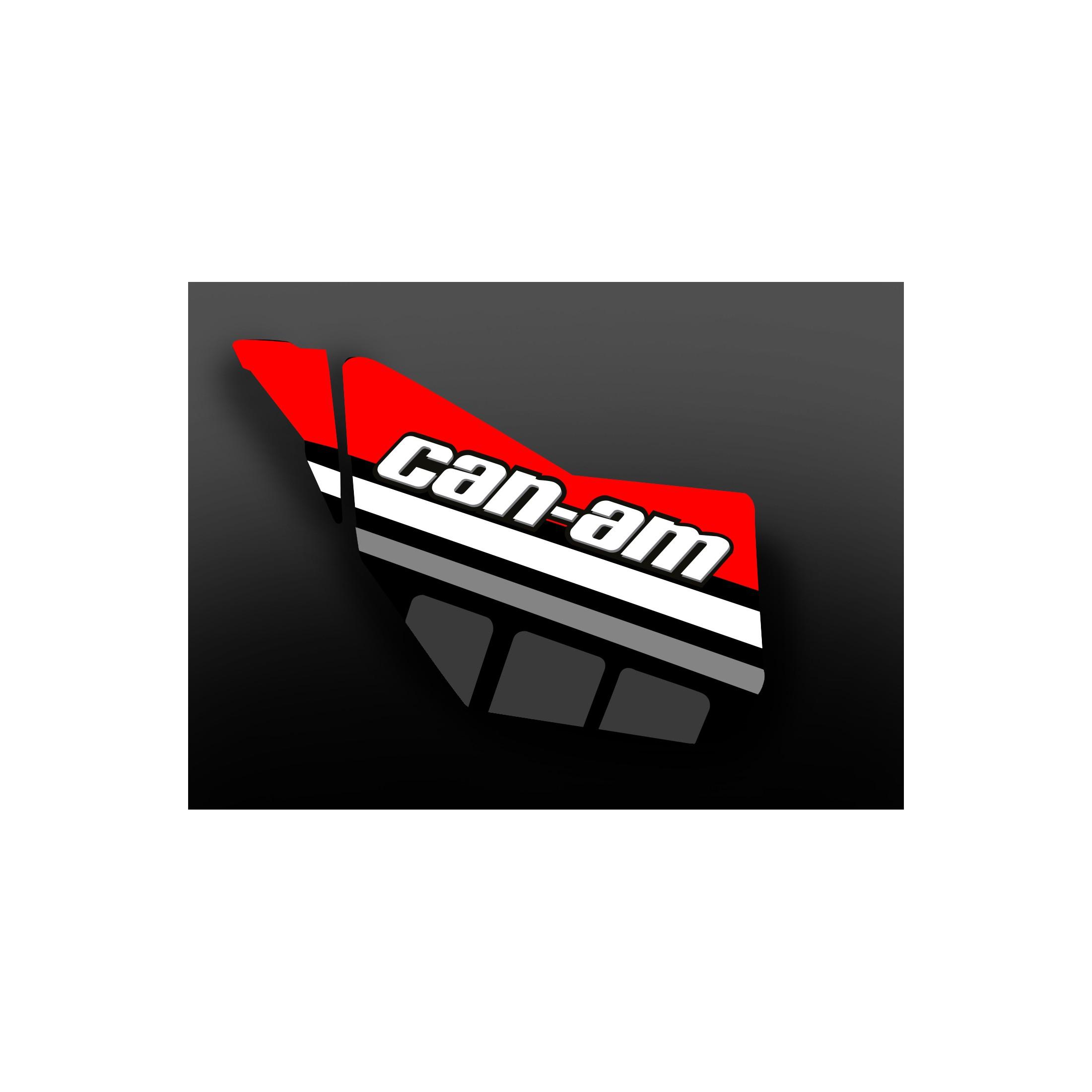 Kit d coration porte origine race edition rouge for Decoration porte rouge