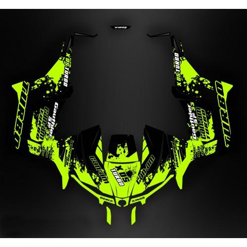 foto del kit, Kit de decoración para la decoración de Splash Turbo - Idgrafix - Can Am 1000 Maverick
