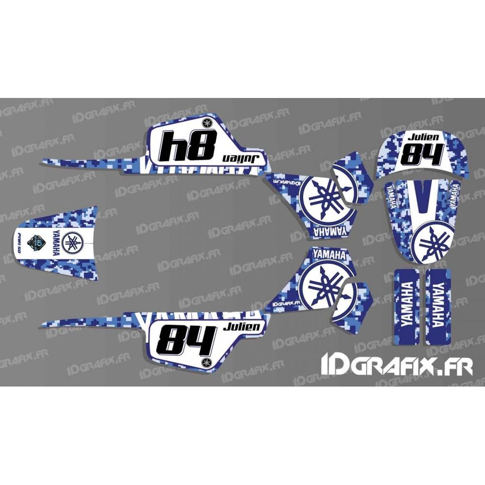 kit decoration blue digital full idgrafix yamaha 50 piwi idgr. Black Bedroom Furniture Sets. Home Design Ideas