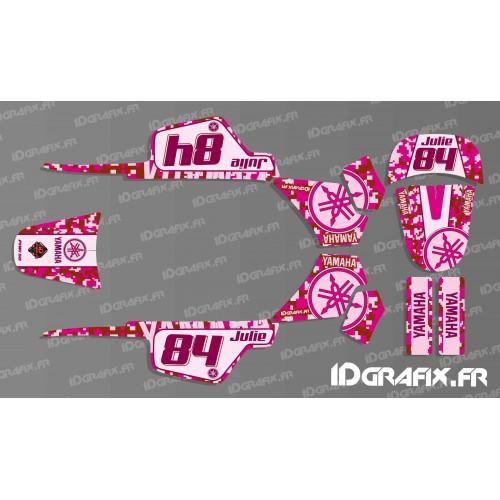 photo du kit décoration - Kit décoration Digital Rouge Full - IDgrafix - Yamaha 50 Piwi