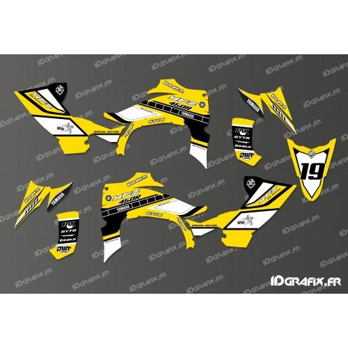 photo du kit décoration - Kit décoration 60eme Yamaha Full (Jaune) - IDgrafix - Yamaha YFZ 450 R