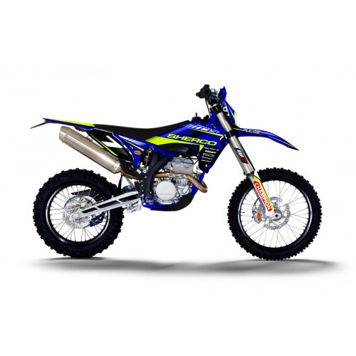 photo du kit décoration - Kit décoration Factory Edition (FLUO) - Sherco 450 SEF