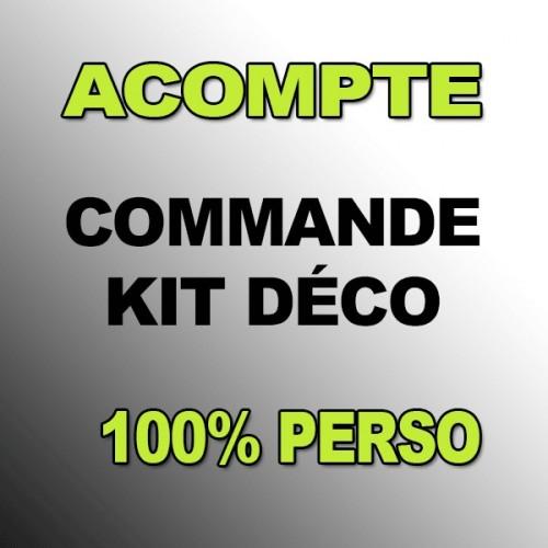photo du kit décoration - Acompte Kit déco 100 % Perso - VTT