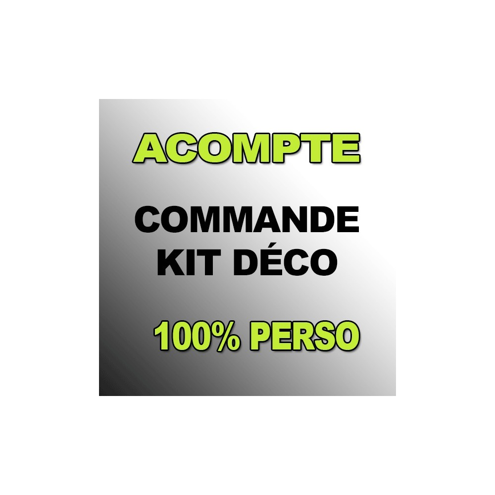 acompte kit d co 100 perso vtt idgrafix kit d co. Black Bedroom Furniture Sets. Home Design Ideas