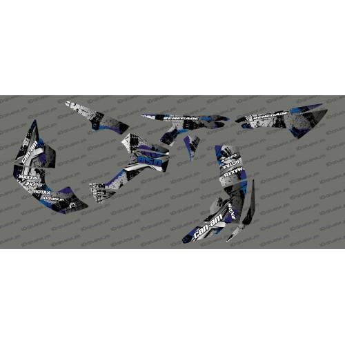 photo of the kit, decoration Kit decoration Brush Series-Full (Gray)- IDgrafix - Can Am Renegade