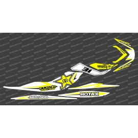 Kit décoration Rock Blanc/Jaune pour Seadoo RXP-X 260 / 300