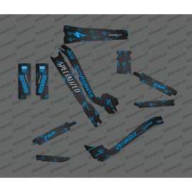 Kit déco Carbone Edition Full (Bleu) - Specialized Turbo Levo