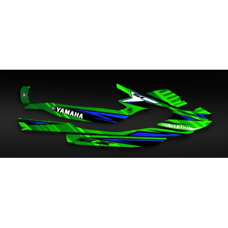 kit deco factory edition green yamaha ex idgrafix