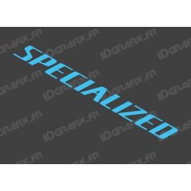 Sticker Specialized 52x5.2 cm (Bleu)
