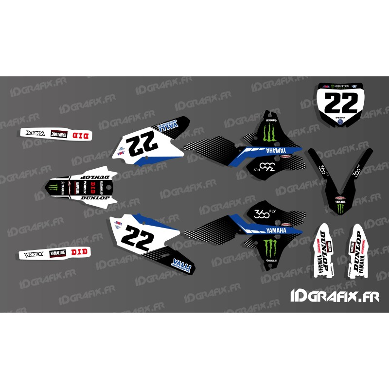 kit decoration cooper webb replica yamaha yz yzf 125 250