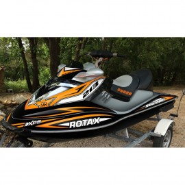 photo du kit décoration - Kit décoration Rockstar Orange pour Seadoo RXT 215-255