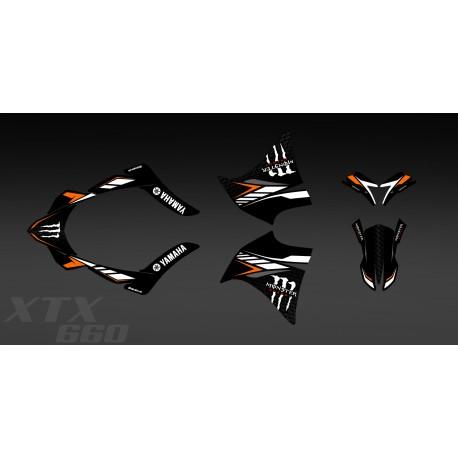 kit deco 100 my own orange for yamaha 660 xt 2000 2007