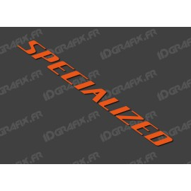 Sticker Specialized 52x5.2 cm (Orange)
