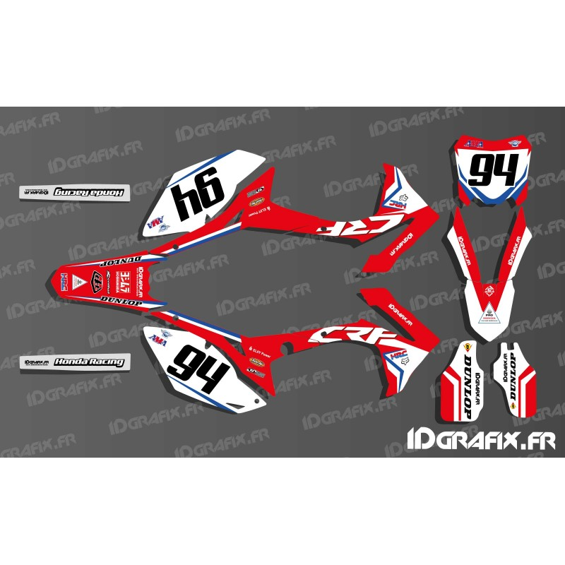 Kit Decoration German Rider Ken Roczen Replica Honda Cr
