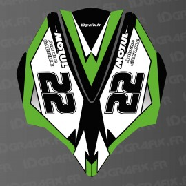 Kit décoration Capot AV Green LTD pour Kawasaki Ultra 300/310R