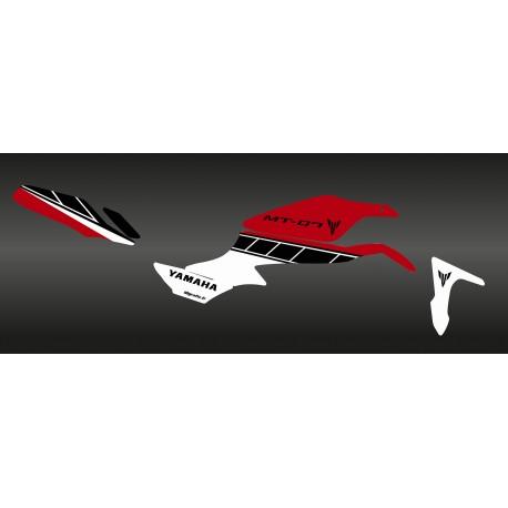 kit d coration factory rouge idgrafix yamaha mt 07 kit deco. Black Bedroom Furniture Sets. Home Design Ideas