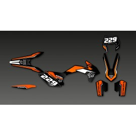 Kit déco FOX Edition pour KTM EXC