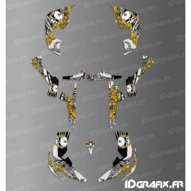 Kit décoration Skull Series Full (Jaune)- IDgrafix - Can Am Renegade