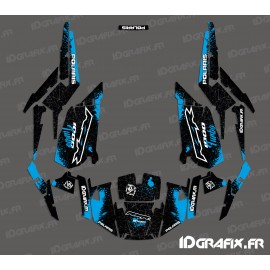 Kit de decoración de Spotof Edición (Azul)- IDgrafix - Polaris RZR 1000 Turbo