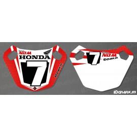 Painel / Poço Placa Personalizada - Honda série - IDgrafix