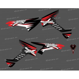Kit de decoración de Carrera de la Serie - Parte-Lat - IDgrafix - Can Am Renegade
