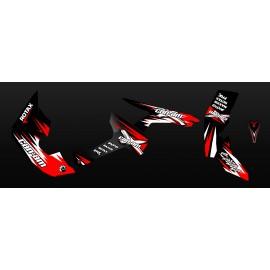 Kit de decoración de Carrera de la Serie Completa (Rojo) - IDgrafix - Can Am Renegade