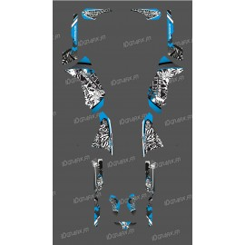 photo du kit décoration - Kit décoration Bleu Tag Series - IDgrafix - Polaris 500 Sportsman
