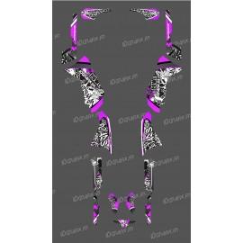 photo du kit décoration - Kit décoration Rose Tag Series - IDgrafix - Polaris 500 Sportsman