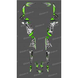 photo du kit décoration - Kit décoration Vert Tag Series - IDgrafix - Polaris 500 Sportsman