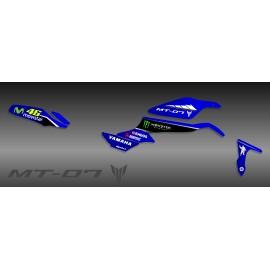 Kit decoration GP series (blue) - IDgrafix - Yamaha MT-09 (after 2017)