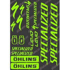 Conselho Adesivo 21x30cm (Neon Verde) - Especializada / Ohlins