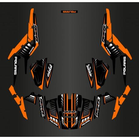 photo du kit décoration - Kit décoration Speed Edition (Orange) - IDgrafix - Polaris RZR 1000 XP