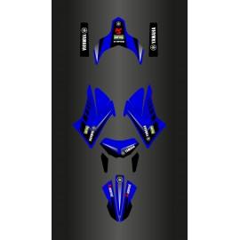 Kit deco Racing Azul/branco para a Yamaha XT 660 (depois de 2007)