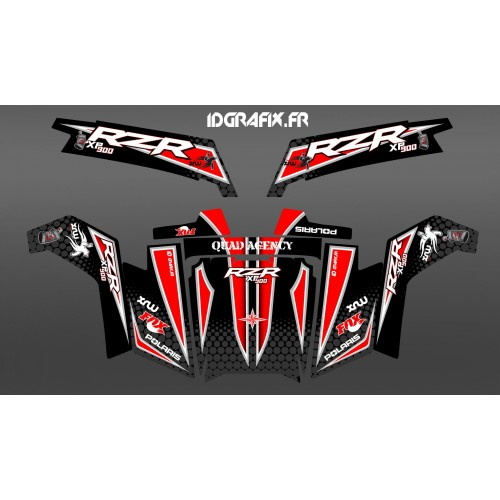 photo du kit décoration - Kit décoration Light Race Edition - IDgrafix - Polaris RZR 900 XP