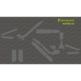 Kit Sticker Protection Full (Brillant ou Mat)) - Specialized KENEVO