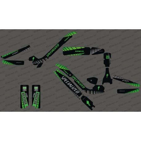 Kit déco GP Edition Full (Vert) - Specialized Kenevo
