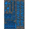 La junta de la etiqueta Engomada de 21x30cm (Azul/Negro) - Especializado / Lyrik