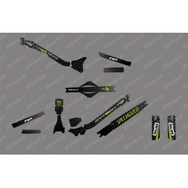 Kit déco 100% Perso Monster Edition Full (Vert) - Specialized Levo Carbon