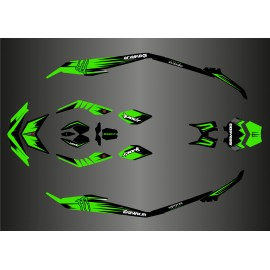 Kit décoration Light Monster Edition (Vert) pour Seadoo Spark