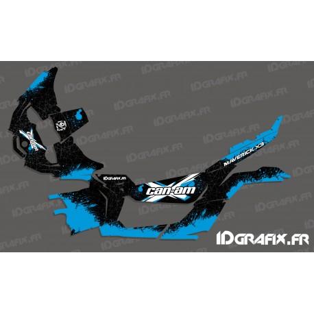 Kit décoration Splash Series (Bleu) - Idgrafix - Can Am Maverick X3