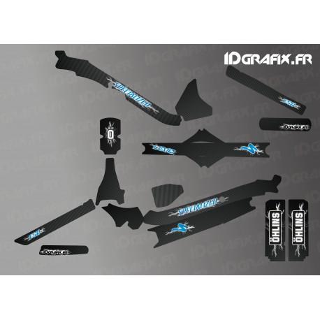 Kit déco Electik Edition Full (Bleu) - Specialized Levo Carbon