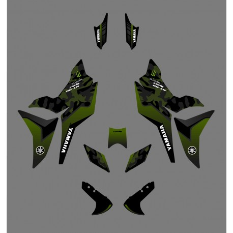 Kit décoration Camo Edition (Vert) - Yamaha MT-09 Tracer