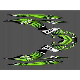Kit décoration Factory Vert pour Seadoo GTR-X 230