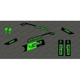 Kit déco Race Edition Medium (Jaune FLUO) - Specialized Levo Carbon