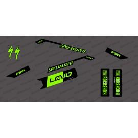 Kit de decoracion Race Edition Medio (Verde Neón) - Especializado Levo