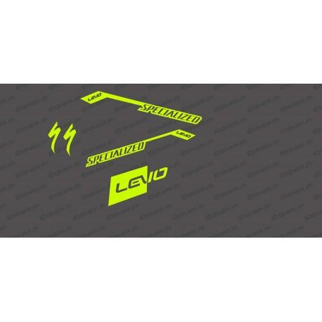 Kit déco RaceCut Light (Jaune FLUO)- Specialized Turbo Levo